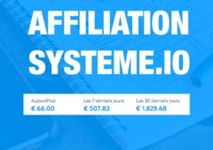 reussir avec l'affiliation systeme.io