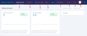 présentation interface graphique systeme.io
