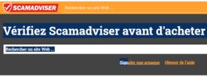 scam avdviser vérifier la fiabilité d'un site