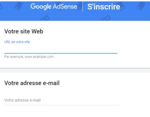 inscription google adsense