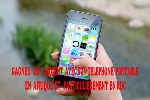 gagner de l'argent smartphone en Afrique